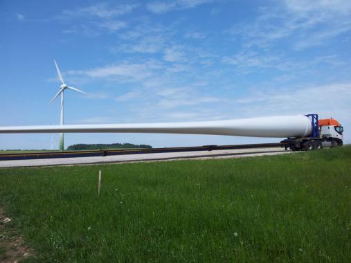 BladeSave Horizon 2020 Project - Wind turbine blade