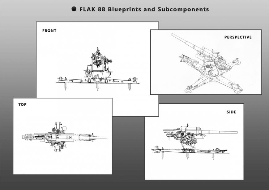 Flak 88 blueprint