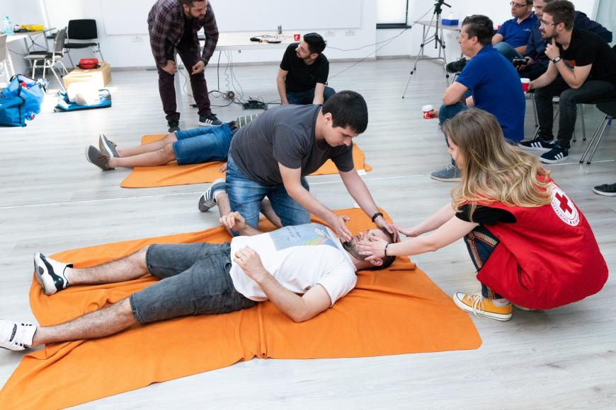 First Aid Training at ASSIST Software with Red Cross Suceava - cover photo
