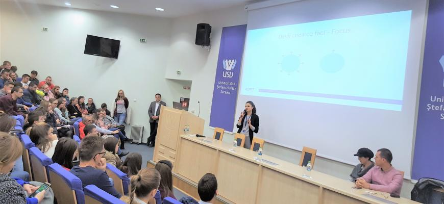 Management of your career event at the University of Suceava - ASSIST Software