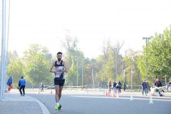 Andrei Gafita competing at race walking National Championship -  ASSIST Software