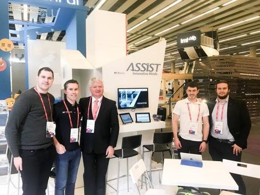 ASSIST Software and STATSports at Mobile World Congress 2018