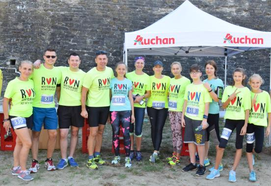 Participants at Suceava Marathon
