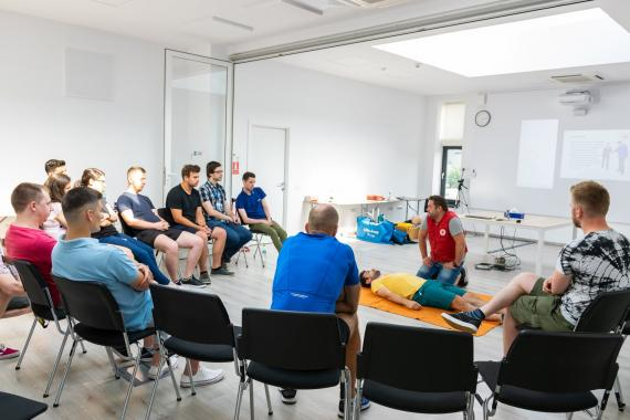 ASSIST Software joined a first aid course sustained by the Red Cross Suceava