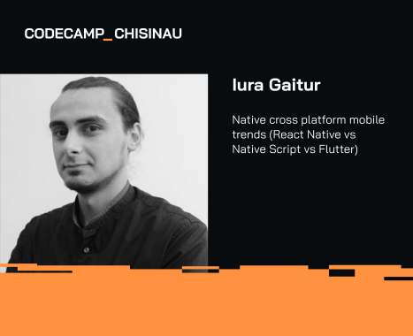 Meet ASSIST Software at Codecamp Chișinău 2019 - Iura Gaitur speaker at Codecamp Chisinau