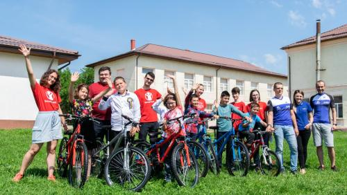 """ASSIST Software participates in the """"Donate a Bicycle"""" Campaign"""