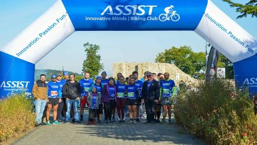 ASSIST Software running for life at Suceava Marathon - promoted picture