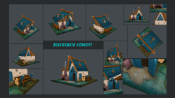 The Blacksmith's House - A 2D to 3D workflow pipeline.