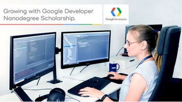 Beatrice Gaube ASSIST Software employee talking about her experience with Google Developer Nanodegree Scholarship