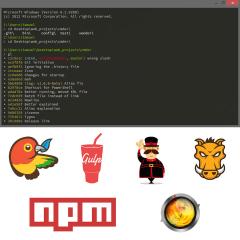 shortcuts for command line- npm